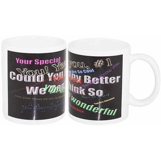 Coffee Mug Your Special Two Set