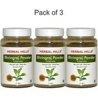 Herbal Hills Bhringraj Powder -300 g (Pack Of 3)