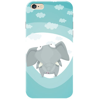 HACHI Baby Elephant Mobile Cover for Apple iPhone 6 Plus