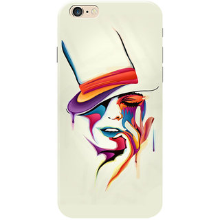 HACHI Colorful Mobile Cover for Apple iPhone 6S