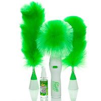 Motorized Electric Duster Wet and Dry Duster Set Cleaning for Grill, Table .....
