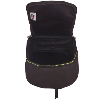 BagsRUs Green Water Resistant Polyester Travel Shoe Space Saver Bag with Zip Closure (SH103FGN)