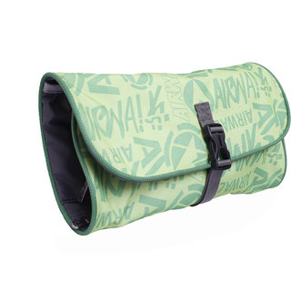BagsRUs Green Folding Travel Toiletry Cosmetic Bag Travel Kit Bag for Men and Women (TK108FGN)