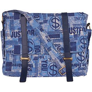 Buy BagsRUs Canvas Waist Belt Navy Blue Office Casual Gym Sports Messenger  Bag (MG105FNB) Online - Get 50% Off 355451d58ade5