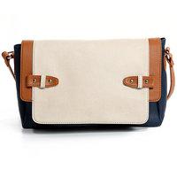 Feisty Flap Sling Bag Color-Blue Dark