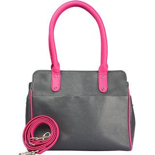 Tenor Handle Bag Color-Grey Dark Option 2