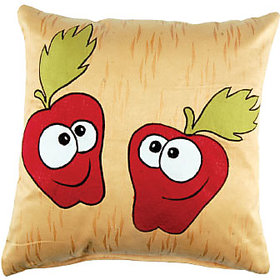 Manpho Embroidery Suede Kid's Cushions Cover with 2 pcs