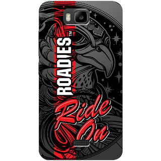 Roadies Hard Case Mobile Cover For Huawei Honor Bee