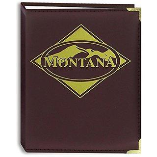 Buy Pioneer Photo Albums 100 Pocket Montana Themed Burgundy Sewn
