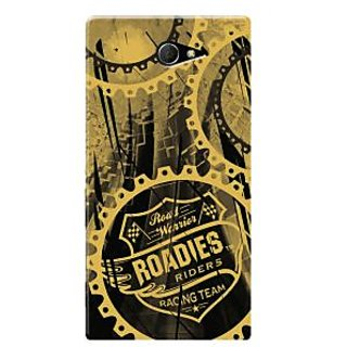 Roadies Hard Case Mobile Cover For Sony Xperia M2