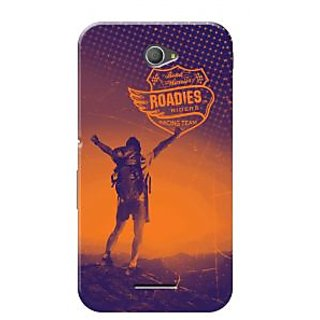 Roadies Hard Case Mobile Cover For Sony Xperia E4