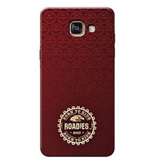 Roadies Hard Case Mobile Cover For Samsung Galaxy A7 2016