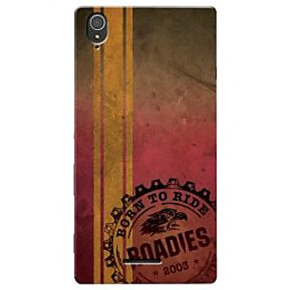 Roadies Hard Case Mobile Cover For Sony Xperia T3