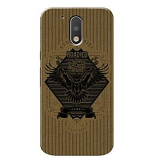 Roadies Hard Case Mobile Cover For Motorola Moto G4