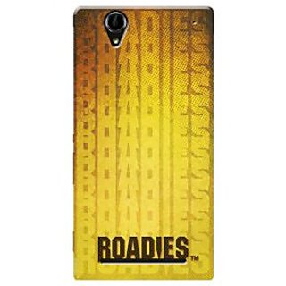 Roadies Hard Case Mobile Cover For Sony Xperia T2 Ultra