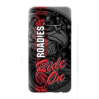 Roadies Hard Case Mobile Cover For Samsung Galaxy S7 Edge