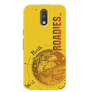 Roadies Hard Case Mobile Cover For Motorola Moto G4