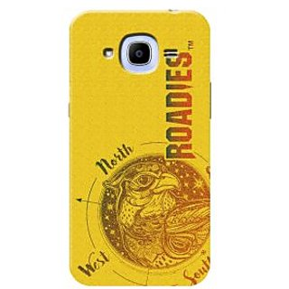 Roadies Hard Case Mobile Cover For Samsung Galaxy J2 Pro 2016