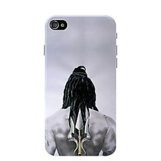 HACHI Lord Shiva Mobile Cover for Apple iPhone 4