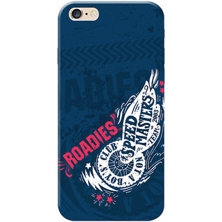 Roadies Hard Case Mobile Cover For Apple Iphone 6 Plus