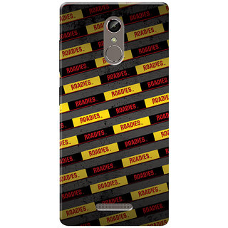Roadies Hard Case Mobile Cover For Gionee S6s
