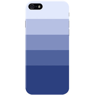HACHI Calm Pattern Mobile Cover for Apple iPhone 5S