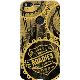 Roadies Hard Case Mobile Cover For Google Pixel XL