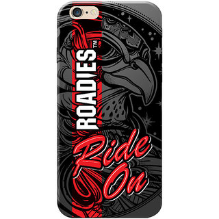 Roadies Hard Case Mobile Cover For Apple Iphone 6s