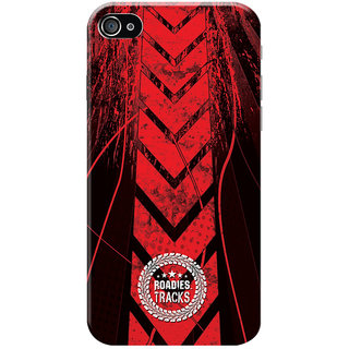 Roadies Hard Case Mobile Cover For Apple Iphone 4