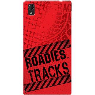 Roadies Hard Case Mobile Cover For Sony Xperia M4 Aqua