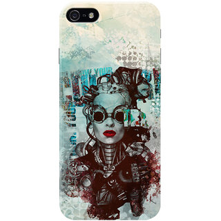 HACHI Artist Love Mobile Cover for Apple iPhone 5S