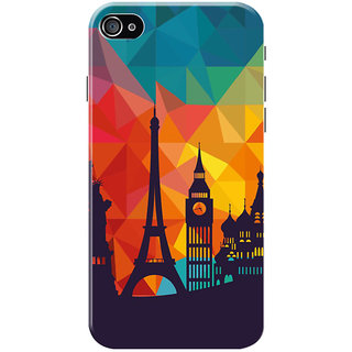HACHI Beautiful City Mobile Cover for Apple iPhone 4