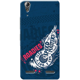 Roadies Hard Case Mobile Cover For Lenovo A6010