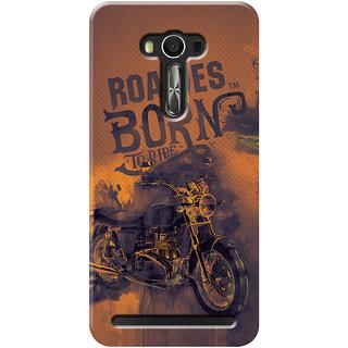 Roadies Hard Case Mobile Cover For Asus Zenfone Selfie ZD551KL