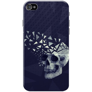 HACHI Think Big Mobile Cover for Apple iPhone 4S