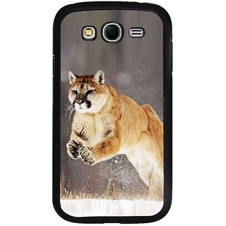 Fuson Designer Phone Back Case Cover Samsung Galaxy Grand 2( A Jaguar Pouncing )