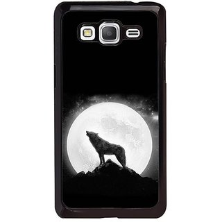 Fuson Designer Phone Back Case Cover Samsung Galaxy Grand Max G720 ( The Howling Wolf )