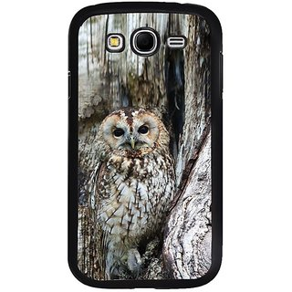 Fuson Designer Phone Back Case Cover Samsung Galaxy Grand 2( Owl On The Tree )