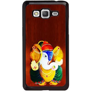Fuson Designer Phone Back Case Cover Samsung Galaxy Grand Max G720 ( Painting Of Lord Ganesha )