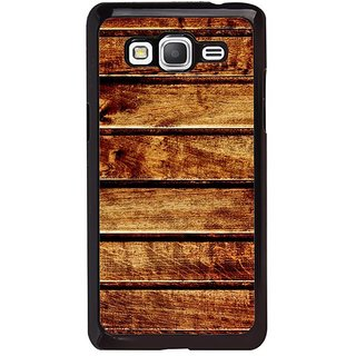 Fuson Designer Phone Back Case Cover Samsung Galaxy Grand Max G720 ( Striped Piece Of Wood )