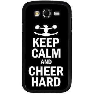 Fuson Designer Phone Back Case Cover Samsung Galaxy Grand 2( Be A Cheerleader )