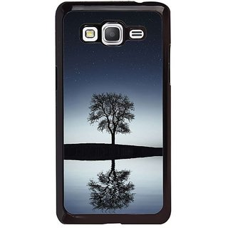 Fuson Designer Phone Back Case Cover Samsung Galaxy Grand Max G720 ( Single Tree Viewed At Night )