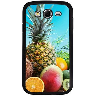 Fuson Designer Phone Back Case Cover Samsung Galaxy Grand Neo I9060 ( Array Of Fuits On Display )