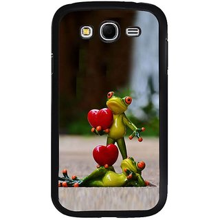 Fuson Designer Phone Back Case Cover Samsung Galaxy Grand Neo I9060 ( Love Among Frogs )