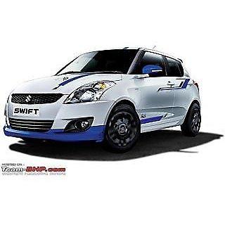 MARUTI SUZUKI SWIFT LIMITED EDITION BODY GRAPHICS  SIDE STICKER - Car body graphics for alto