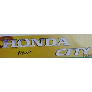 HONDA CITY CAR MONOGRAM /LOGO/EMBLEM chrome emblem monograM
