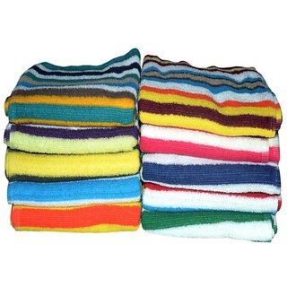 Terry Face Towel - Set Of 12