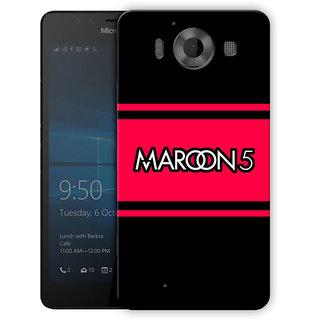 Maroon 5 Minimal Printed Designer Mobile Back Cover For