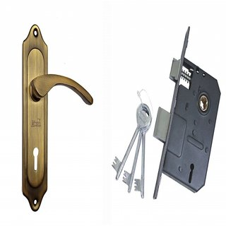 ATOM 509 Brass Antique Finish with Double action legend lock 3 Keys