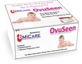 Ovuseen One Step Ovulation (Lh) 5 Test With 1 Pregnancy Test Free